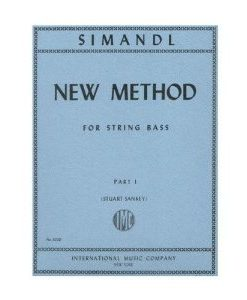 Simandl - New Method For String Bass Edited by Sankey Published by International Music Company